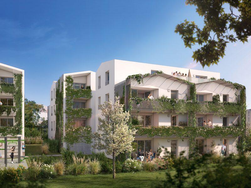 Immeuble résidentiel neuf Villenve d'Ornon